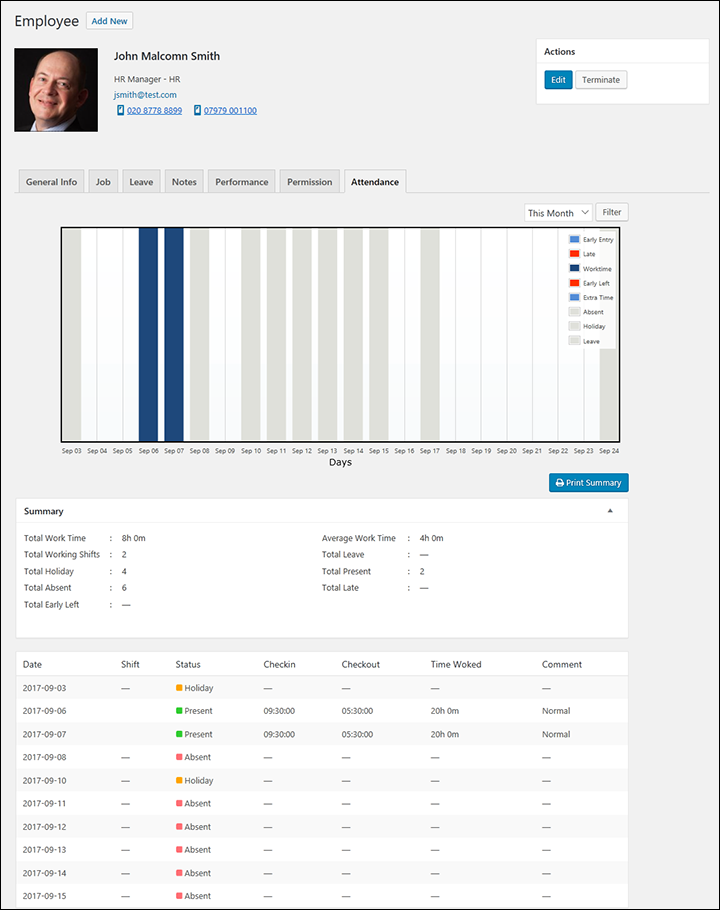 WPHR-1.2.2-Shifts-05-ESS-Employee-Status-Record