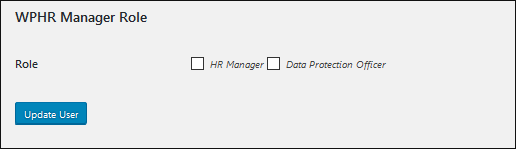 WP-HR-GDPR Assign Role