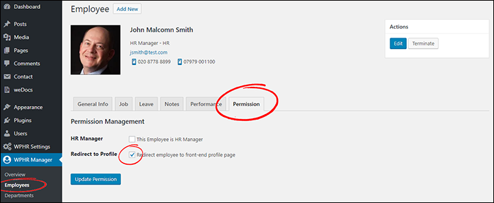 Pro-Screen-02-Redirect-Employee