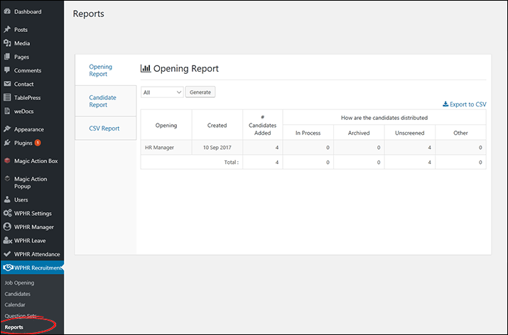 WPHR-3.1.7-Recruitment-01-Reports